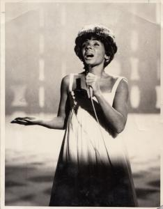 Shirley Bassey Live In Stockholm 1969 BBC TV Show Press Photo