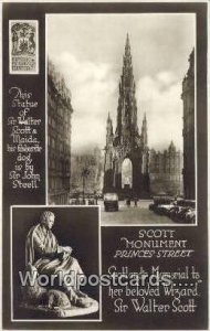 Princes Street Scott Monument Scotland, Escocia Unused
