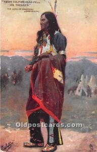 The Song of Hiawatha, Longfellow 1907 Missing Stamp