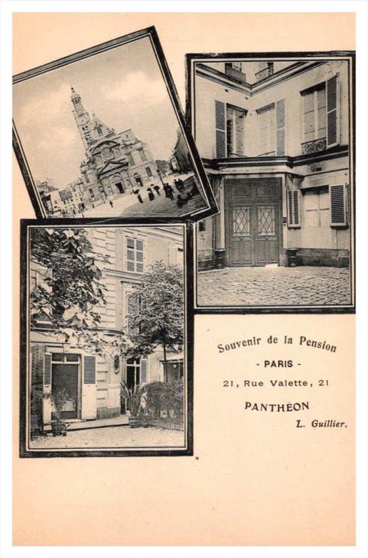13364   Paris   Pension Pantheon 21 Rue valette