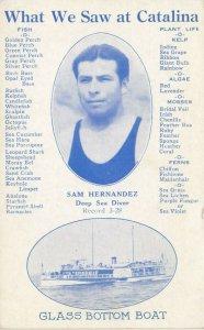 AVALON , Santa Catalina , California , 1900-10s; Sam Hernandez, Deep Sea Diver
