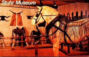 Nebraska Grand Island Stuhr Museum Sculptured Percheron Horse