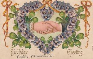 BIRTHDAY , Hands , 1900-10s ; #3