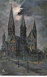 BERLIN , Germany , 1901-07 ; Kaiser Wilheim Kirche , TUCK 9001