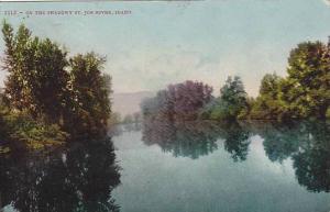 On the Shadowy St. Joe River, Idaho, 00-10