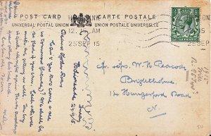 Genealogy Postcard - Family History - Peacock - Hungerford Road - London  V2294