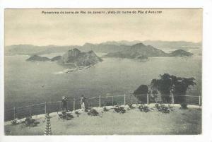 Panorama Da Barra Do Rio de Janeiro, Visto Do Cume Do Pao d'Assucar, Rio de J...
