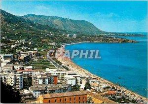Postcard Modern Cefalu Seaside and beach