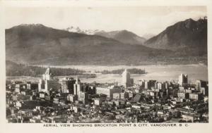 RP: VANCOUVER , B.C. , 1910-30s ; Brocton Point & City