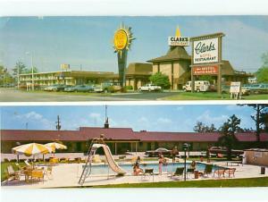 Vintage Post Card Quality Inn Clarks Restaurant U S 301 Santee S C   # 4313
