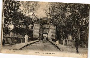 CPA Toul-La Porte de Metz (187681)