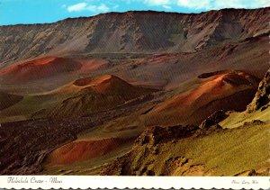 Hawaii Maui Haleakala Crater