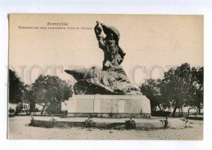 235585 WWI FRANCE FERRYVILLE submarine monument Lutin Farfadet
