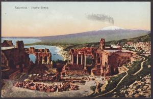 Teatro Greco,Taormina,Italy Postcard