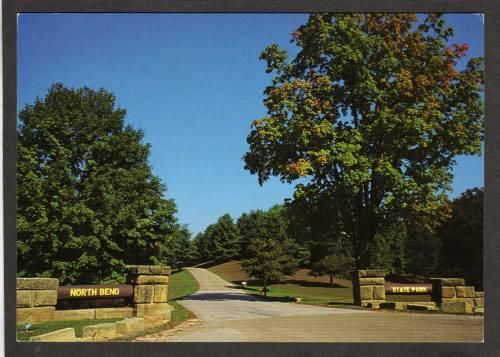 WV North Bend State Park CAIRO WEST VIRGINIA Postcard