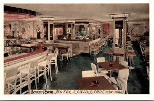 New York City Hotel Lexington Revere Room 1940