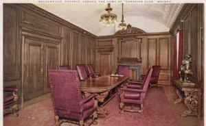 WALKERVILLE , Ontario , Canada , 1900-10s ; Distillery Office , Board Room