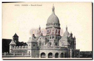 Postcard Old Paris Sacre Coeur