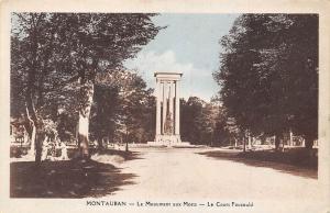 France Montauban Le Monument aux Morts, Le Cours Foucauld