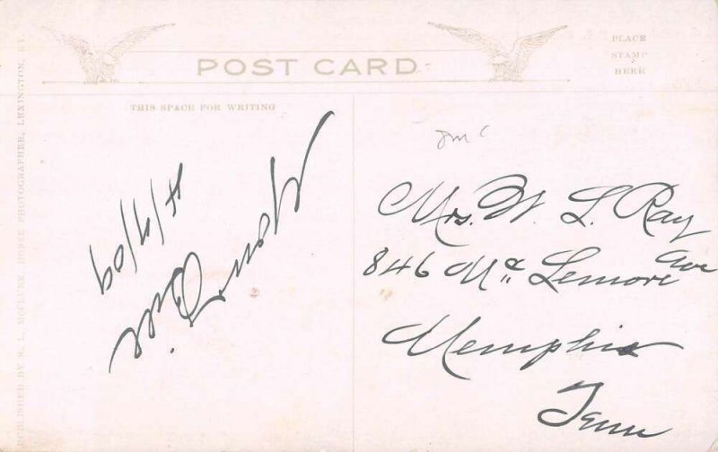 Lexington Kentucky Court House Vintage Postcard AA39534