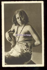 gla0117 - Glamour - Ragazza Bilena, Young Budding Native Woman - postcard