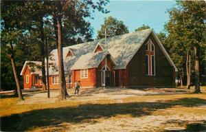 Elkhorn WI~Lutherdale Bible Camp Chapel~Psalm 84:1 Lovely Dwelling Place 1956