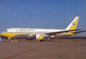 ROYAL BRUNEI BOEING B-767-200ER