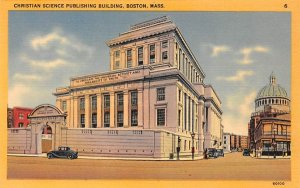Christian Science Publishing Building Boston, Massachusetts Postcard