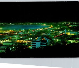 Guam Brilliant Night View Of Agana
