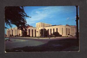 TX View Coliseum and Music Hall Houston Texas Postcard