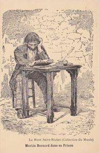 France Le Mont Saint-Michel Martin Bernard dans sa Prison