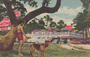 Mississippi Mississippi City Friendship House Restaurant & Cottages 1958