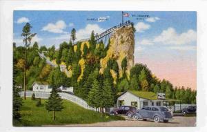 Castle Rock, St. Ignace, Michigan, 1930-1940s