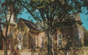 Virginia Williamsburg Bruton Parish Church