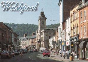 Welshpool Corals Bookmakers Gambling Shop Welsh Postcard