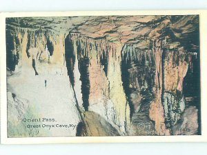 Linen GREAT ONYX CAVE Mammoth Cave National Park - Cave City Kentucky KY AD4052