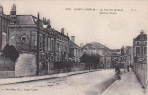 France Saint Dizier La Rue de la Gare