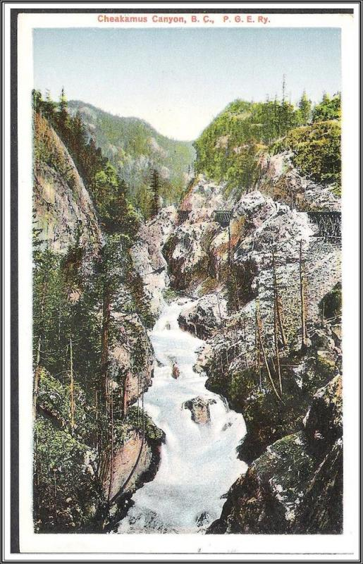 Canada, B.C. - Cheakamus Canyon - [FG-106]