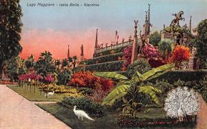 Lake Maggiore, Isola Bella Garden, Northern Italy, Early Postcard, Unused
