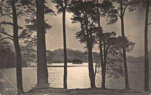 Derwentwater Friar's Crag Cumbria Lake Landscape Postcard