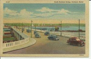 Portland, Maine, South Portland Bridge