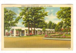 Robert Hines Motor Court, Lake City, Florida, PU-1941