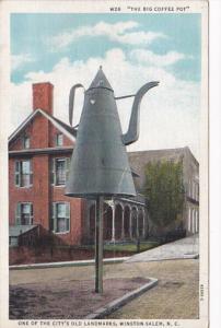 North Carolina Winston Salem The Big Coffee Pot Curteich
