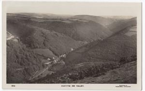 Devon; Exmoor, Hunter's Inn Valley RP PPC, Unposted, By Twiss Brothers
