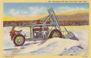 Havesting Salt, Sault Lake City, Utah, 30-40s