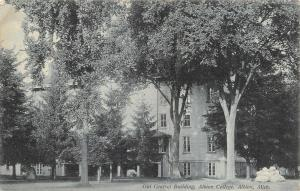 Albion College MI~Old Central Building Nestled in the Pines & Shade Trees~1912
