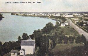 PRINCE ALBERT, Saskatchewan, Canada, PU-1908; River Avenue