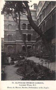 St Alphage Church Garden London United Kingdom, Great Britain, England Unused