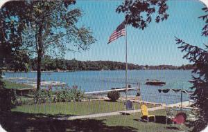 Indiana Angola A Beauty Spot On Lake James 1972