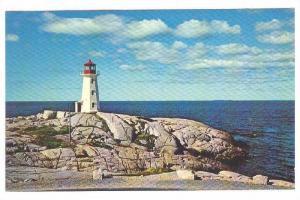The Lighthouse, Peggy's Cove, Nova Scotia, Canada,40-60s